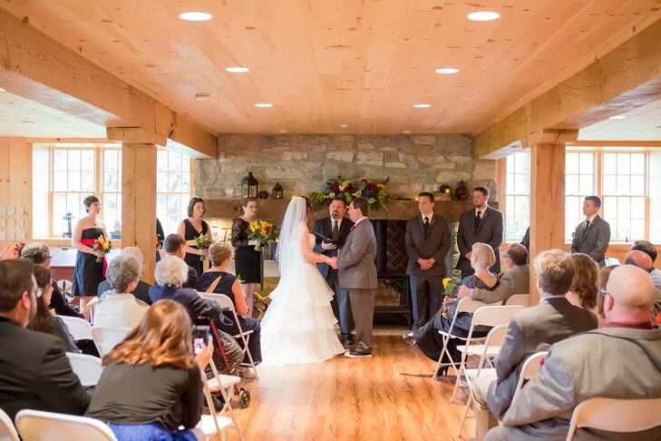 Intimate Farmhouse Wedding Ceremony