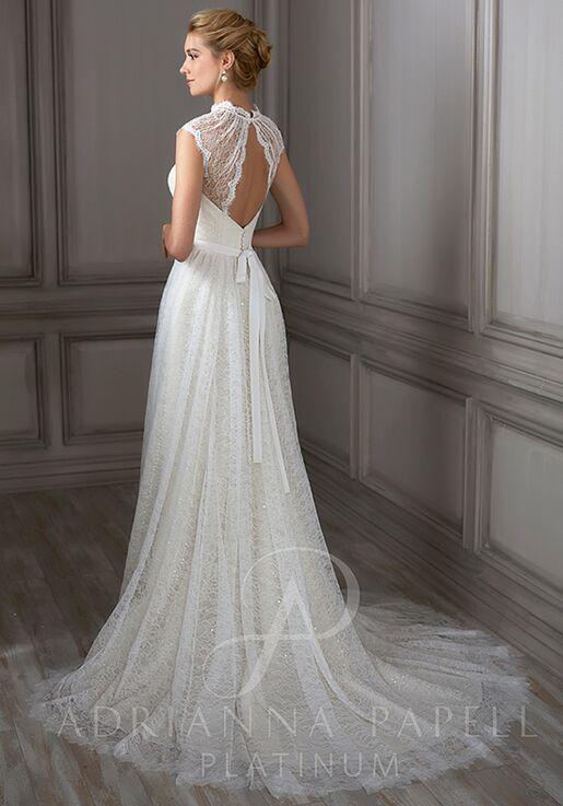 5dc808cb50 Adrianna Papell Platinum Juliet Wedding Dress - The Knot