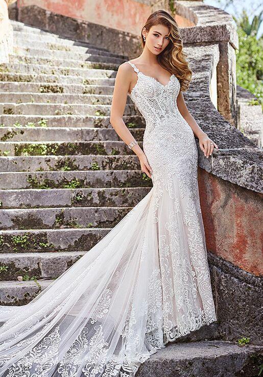 b693aa53 Martin Thornburg a Mon Cheri Collection 218203 Marissa Sheath Wedding Dress