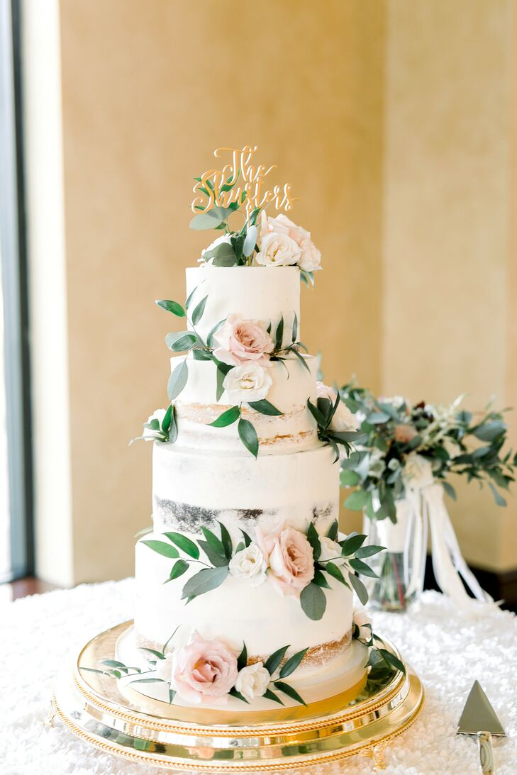 Classic Wedding Cake at Bella Collina in Florida