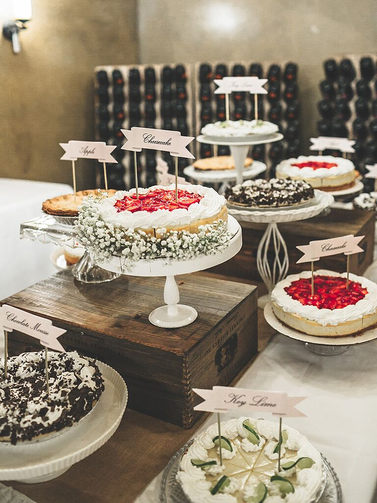 Wedding Buffets Ideas.20 Creative Wedding Dessert Buffet Ideas
