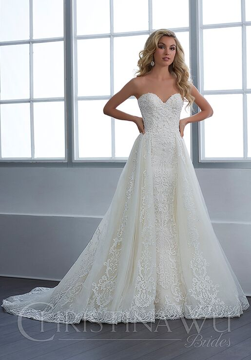 0c490429d0 Christina Wu 15649 Wedding Dress - The Knot