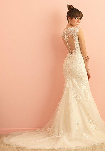 Allure Romance 2864 Mermaid Wedding Dress