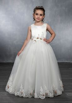 Mary's Angel by Mary's Bridal MB9034 White Flower Girl Dress