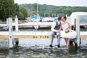 Nautical Waterfront Lake Geneva Wisconsin Wedding