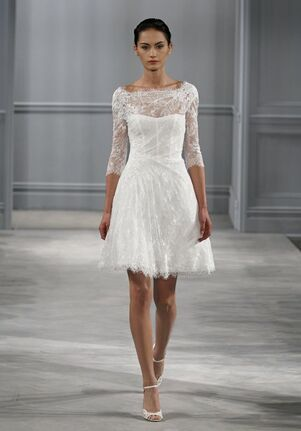 Short Wedding Dresses with Lace