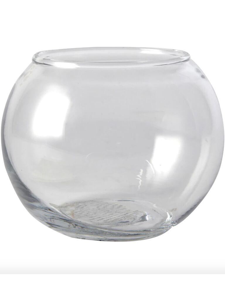 Backyard wedding ideas glass vase