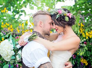 When Allegra Laser (25 and a social worker) and Tyler Laser (26 and a pro basketball player) met at a pool party six summers ago, it was love at first