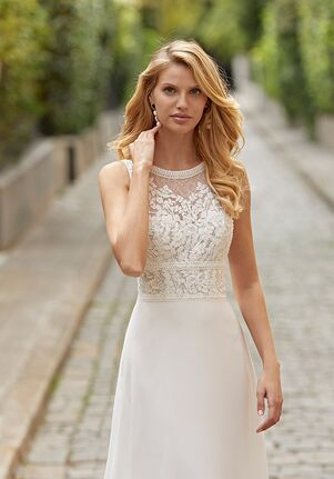 Rosa Clará TANOS Sheath Wedding Dress