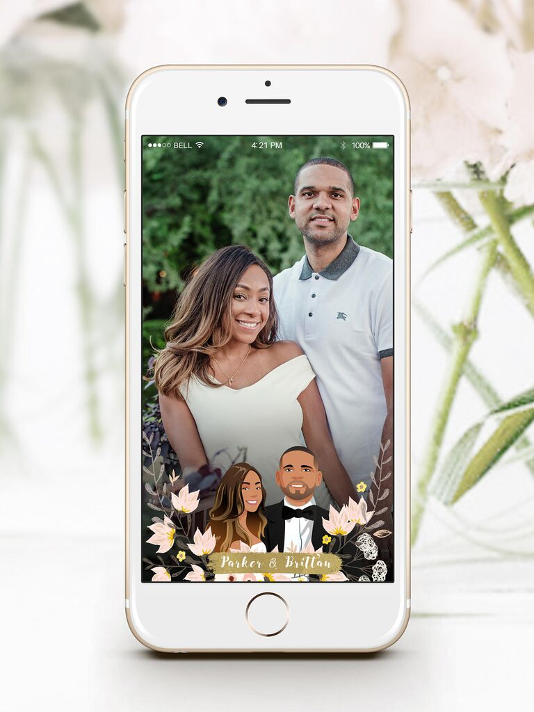 How to Make Your Own Wedding Snapchat Filter