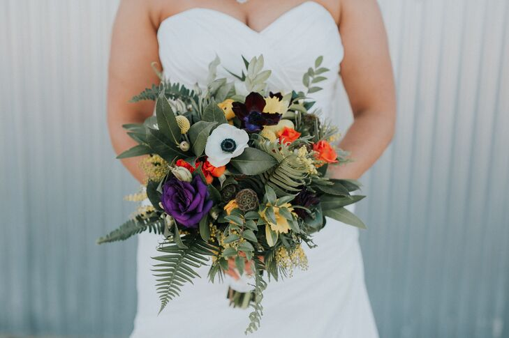 Bohemian Fern and Assorted Greenery Bouquet