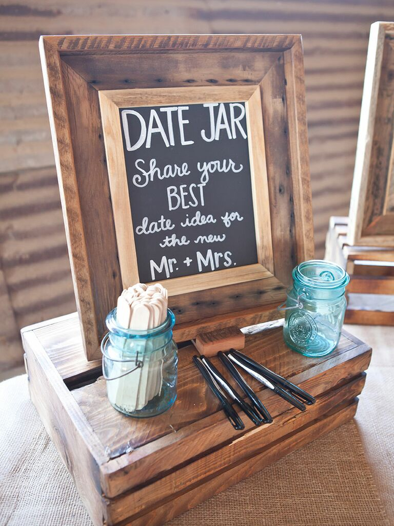 Interactive wedding game ideas guestbook
