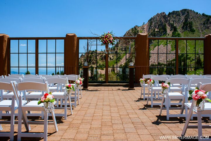 Snowbasin resort huntsville ut for Wedding venues huntsville al