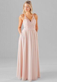 Kennedy Blue Iris V-Neck Bridesmaid Dress