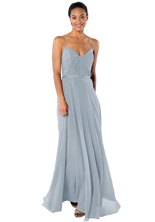 Brideside Cher in Sky Sweetheart Bridesmaid Dress