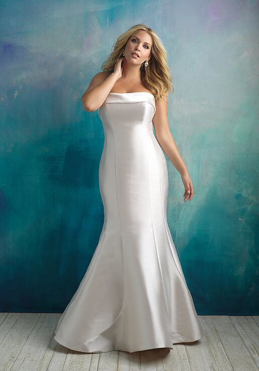 Allure Bridals W412 Mermaid Wedding Dress