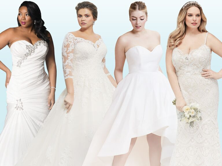 b13bddcdfd4a 20 Gorgeous Plus-Size Wedding Dress You'll Love