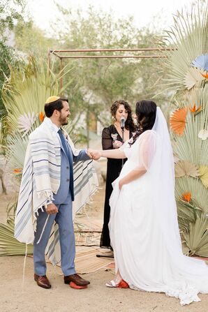 Jewish Wedding Ceremony at the Ace Hotel and Swim Club in Palm Springs