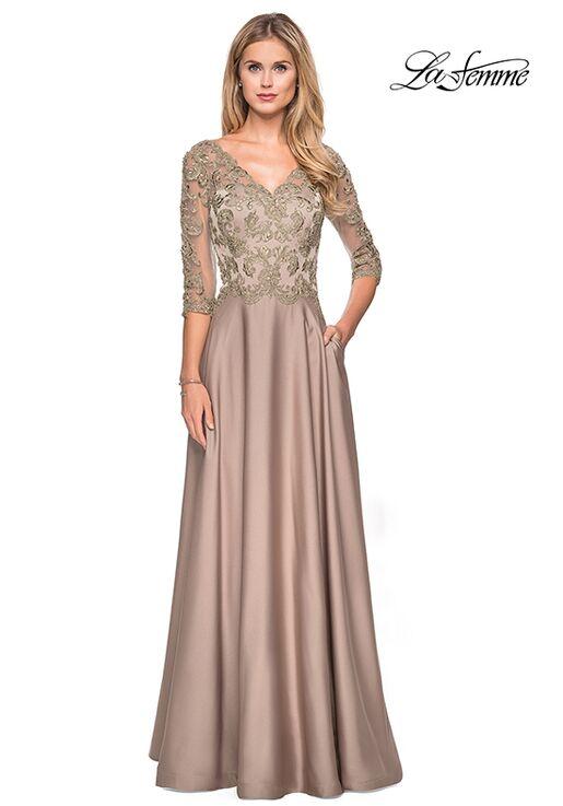 32011572c2 La Femme Evening 27235 Mother Of The Bride Dress - The Knot