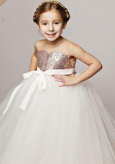 FATTIEPIE rose gold Flower Girl Dress