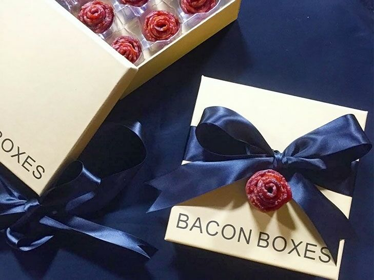 Bacon gift box ideas from Bacon Boxes