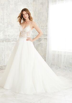 Adrianna Papell Platinum 31128 A-Line Wedding Dress