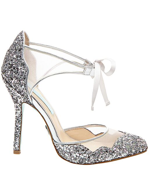 6be6be87497 Blue by Betsey Johnson SB-STELA-silver Wedding Shoes - The Knot