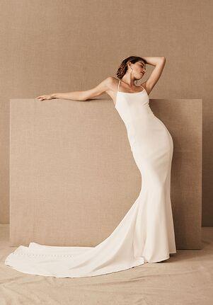BHLDN Dimanche Gown Sheath Wedding Dress