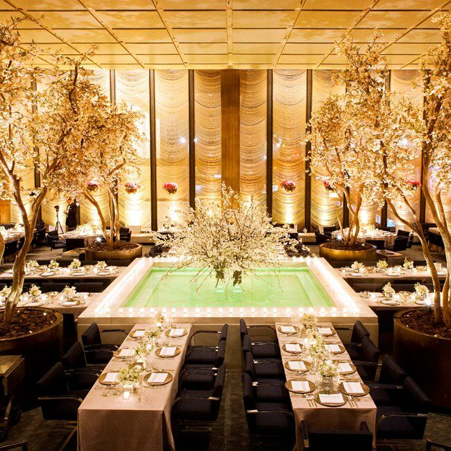Reception at The Four Seasons Restaurant