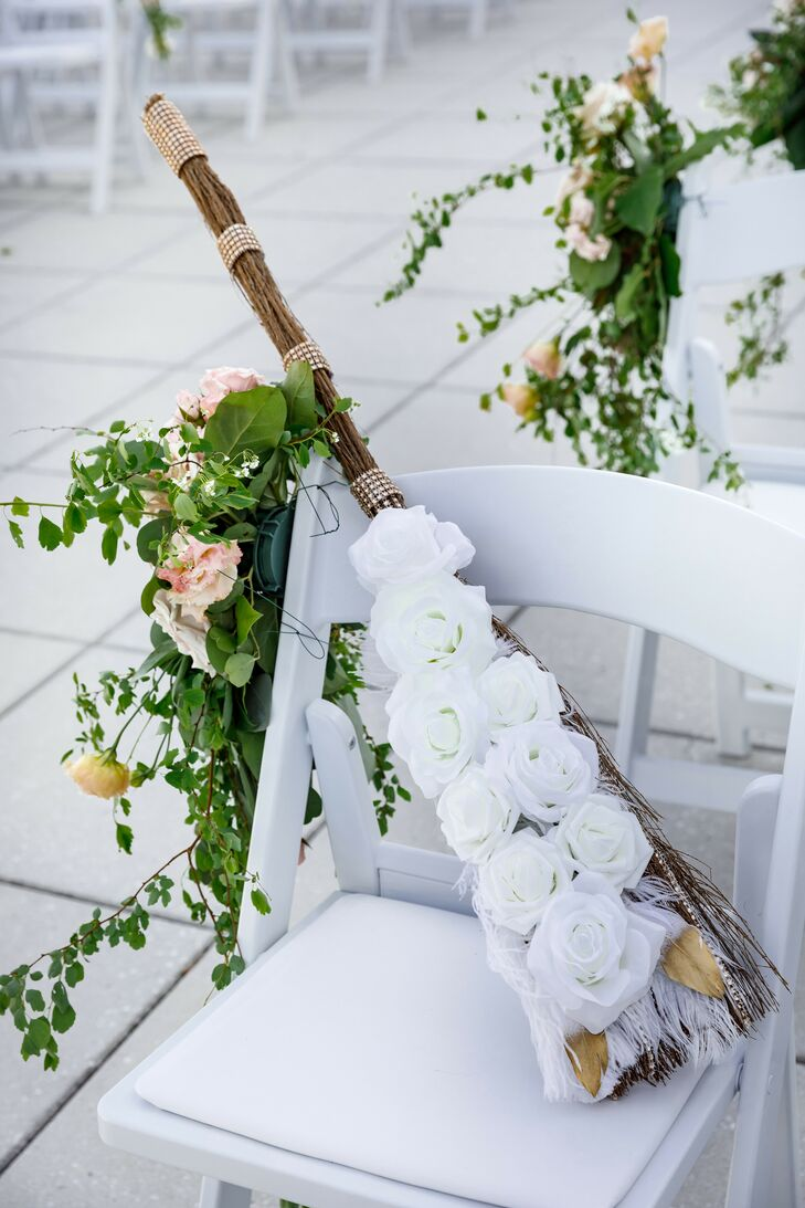 Wedding Broom at The Palace at Somerset in Somerset, New Jersey
