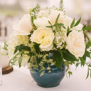 Elegant Rose and Peony Centerpieces
