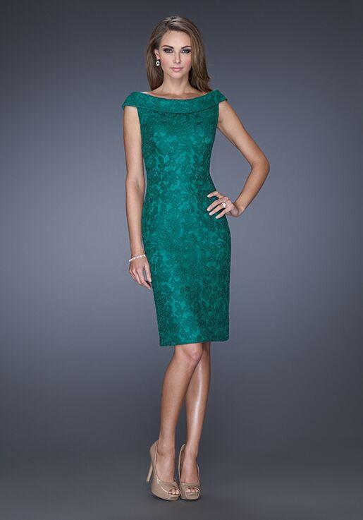 La Femme Evening 20512 Green Mother Of The Bride Dress