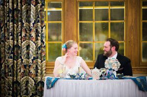 Alice in Wonderland-Themed Winter Wedding