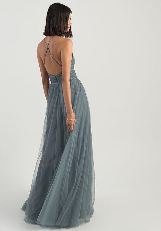 Jenny Yoo Collection (Maids) Helena Halter Bridesmaid Dress