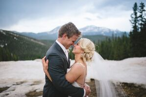 Grace and Luke at Timber Ridge Lodge in Ouray, Colorado