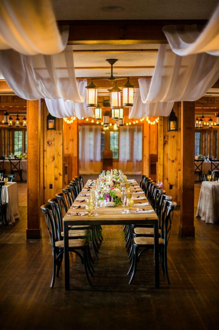 Rustic Migis Lodge Reception