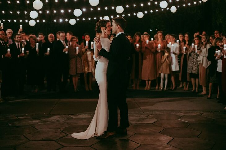 Modern and Elegant First Dance at The Fig House in Los Angeles