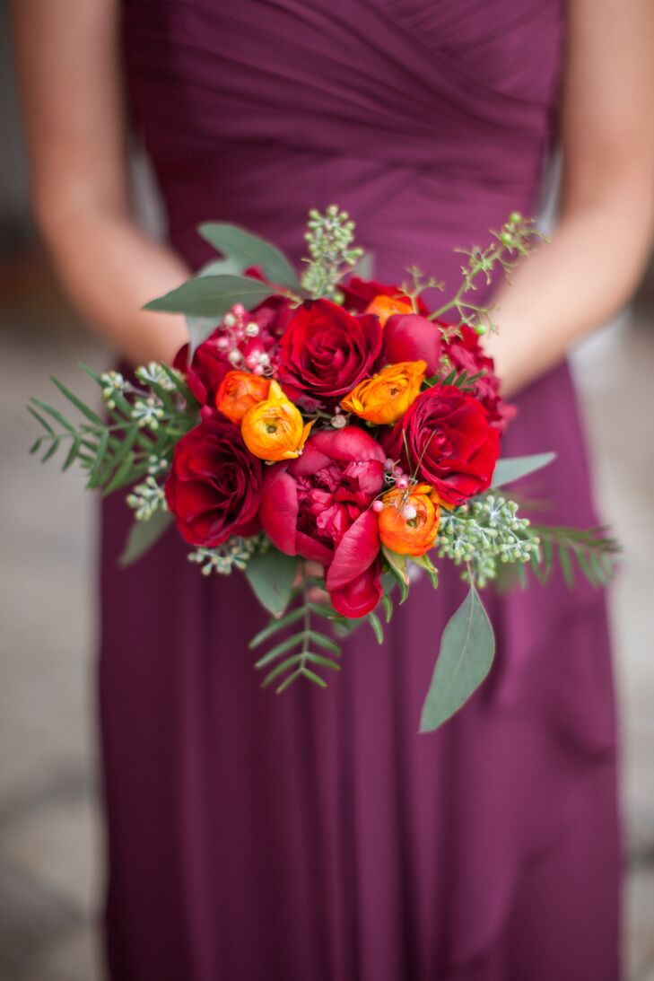 Elegant Rose and Ranunculus Bouquet