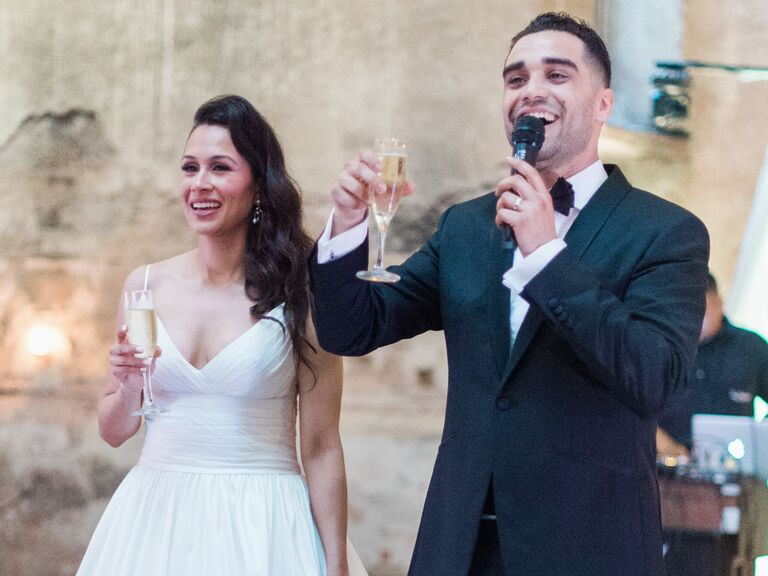 Toasting: A Guide for the Bride & Groom