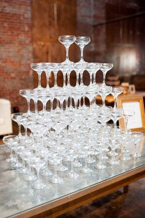 Classic Champagne Tower