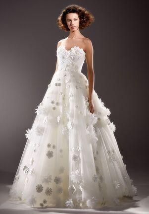 Viktor&Rolf Mariage BRODERIE ANGLAIS FLOWER GOWN Ball Gown Wedding Dress