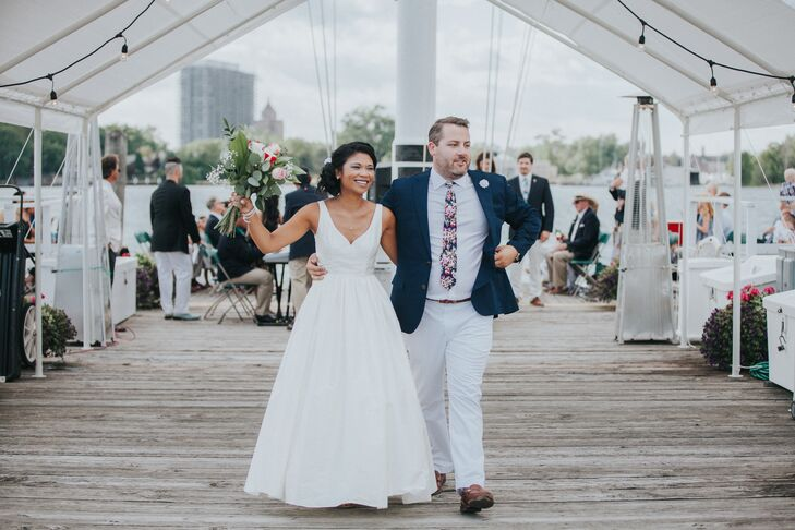 """Joining of lives isn't picture perfect,"" Josephine says. ""It's a combination of all sorts of traditions, tastes, cultures and people. Your wedding should really reflect who you are as a couple."""