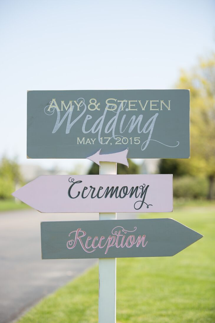 Custom Sign Post Welcome Sign