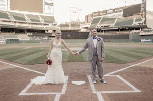 Whimsical Baseball Field Wedding