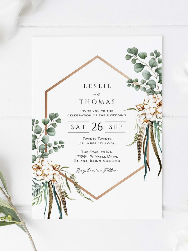 5 Wedding Invitation Templates You Can Print Yourself