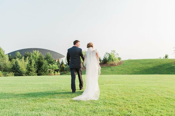 """I wanted our guests to know that this was a low-key garden party focused on celebrating our love and spending time with family of friends,"" Blair explains. ""There was nothing about our day that was formal or traditional."""
