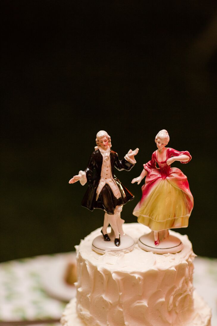 Borrowed Vintage Cake Toppers