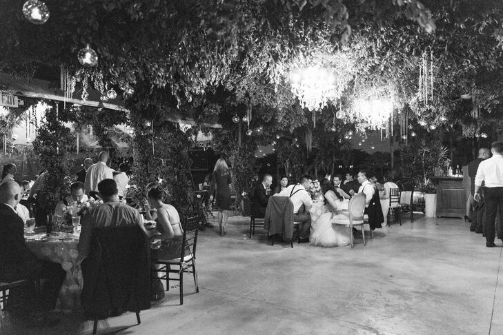 Joyce and Jae's Garden Reception Canopy