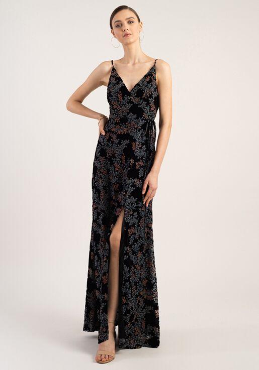 Jenny Yoo Collection (Maids) Selma V-Neck Bridesmaid Dress
