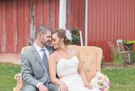 This wasn't Jennifer Miller and Jeremy Clark's first wedding at the Miller family farm. Two years prior, the couple met while feting Jennifer's sister